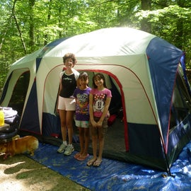 West Thompson Lake Campground Tent Site
