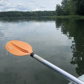 Views while kayaking