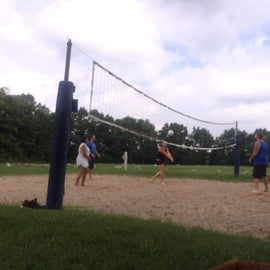Volleyball courts nearby