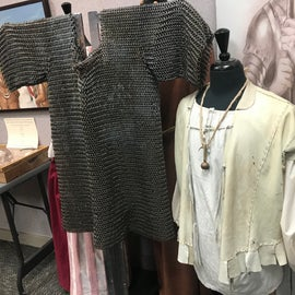 Inside you will find recreations of clothing and more of the items which have been relevant in this area over time.