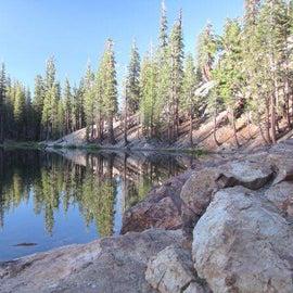 Starkweather Lake early morning reflection