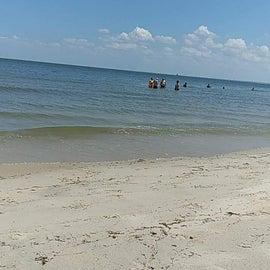 Plenty of room on the sand