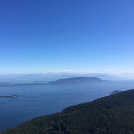 Take a hike or drive up Mt. Constitution for gorgeous views!