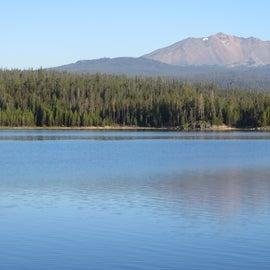 Diamond Peak from the campsite