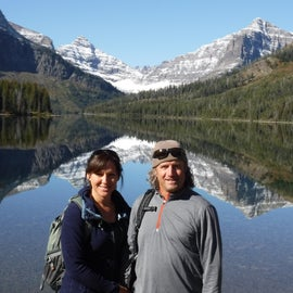 Upper Two Medicine Lake's outstanding views