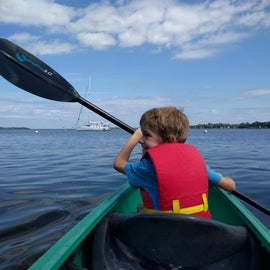 Lots of fun opportunities for paddling!