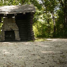 Remains of the Civilian Conservation Corps camp