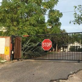 A gated park