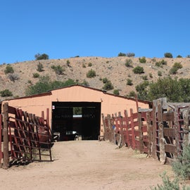The horse corral