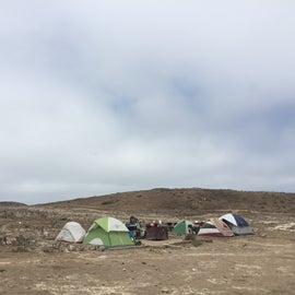2 of the side-by-side campsites