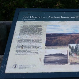 Historical sign at Dearborn FAS