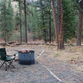 A great evening beside a roaring fire.