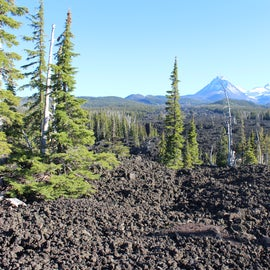 Belknap Crater lava flows looking towards the Sisters off of Hwy 242. A place I'm definitely coming back to!!!