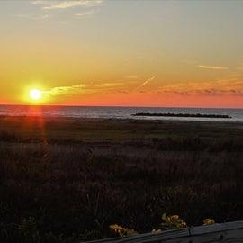 Breath taking sunset