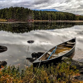 Rent a canoe for an afternoon adventure.