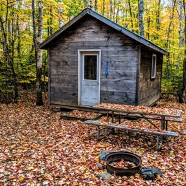 Adorable camping cabins.