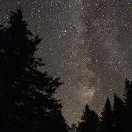 Dark skies at Nesowadnehunk Field @ Baxter State Park