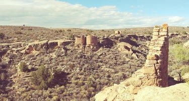 Square Tower Ruins - Hovenweep National Monument