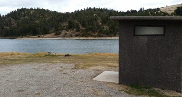 Newlan Creek Reservoir