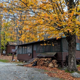 Ranger station, with staff available for questions.