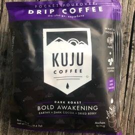 Kuju is perfect pocket sized coffee brewing