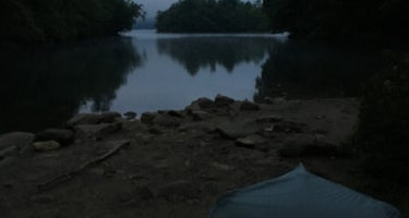 Bartram Trail Campground on Nantahala Lake