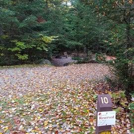 site 10, , Sugarloaf 1 tent site