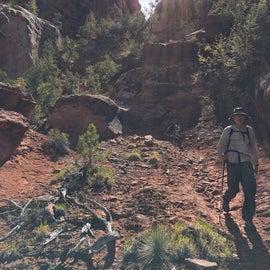 Hiking in the Devil's Park
