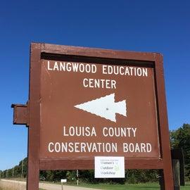 Entrance to Langwood