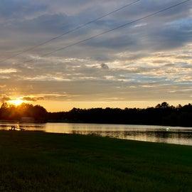 Sunset on Lake Leamon