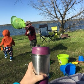 Spring camping at the Cottonwood primitives. Cool mornings and perfect temps during the day. Love enjoying my coffee with the view.