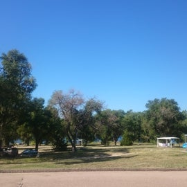 Boat loading and general public use area, close to the State Recreation Area main entrance.