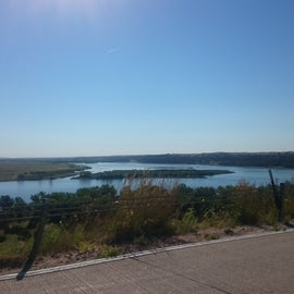 View east from Lake McConaughy.