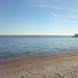 Nice calm beach