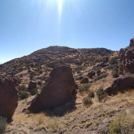 Spook Canyon, just around the corner from the main Box area