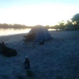 Campsite looking good!