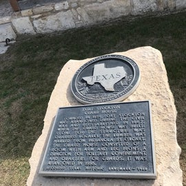 This Historic Marker is significant to this area, there are a couple at the old fort, making this one of the best places to visit when staying at the campground.