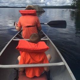 Cranberry Lake paddling