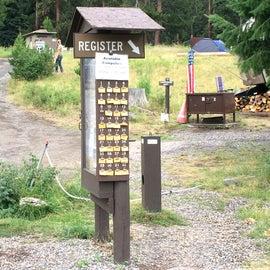 Registration kiosk