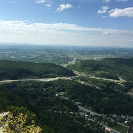 Just one of the views from the pinnacle over look