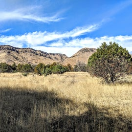 Beautiful views all along Piney Canyon Rd.