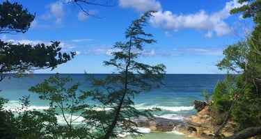 Pictured Rocks National Lakeshore Backcountry Sites