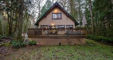 Mt. Baker Lodging - Cabin #22 - HOT TUB, FIREPLACE, WIFI, W/D, D/W, BBQ, PETS OK, SLEEPS-4!