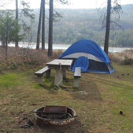 Kettle Falls Campground, April 2019