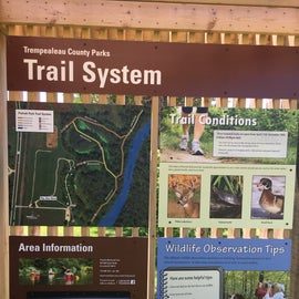 A small but nice trail system with good maps