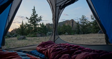 Smith Rock State Park - CAMPING RESTRICTED FOR COVID