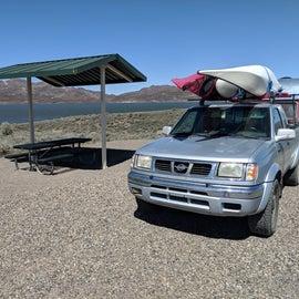 Nice reservoir for sailing, fishing, kayaking, and more.
