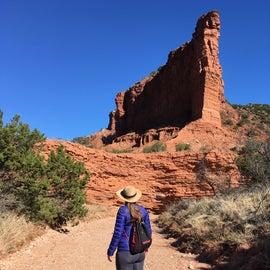 Exploring the canyon
