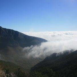 Halfway up Guadalupe Peak
