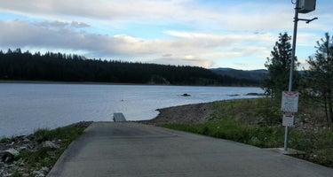 Snag Cove Campground - Lake Roosevelt National Rec Area